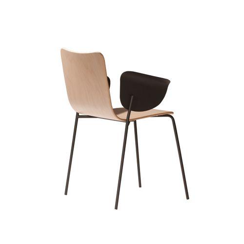 Miro 411Y tuoli, käsinojat metallia