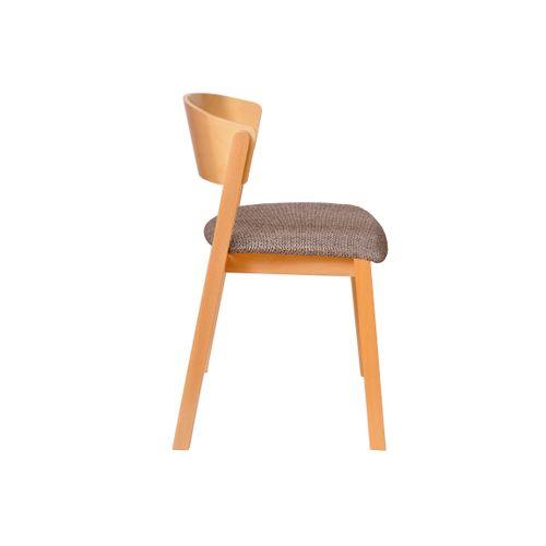 Cava A tuoli, istuin verhoiltu