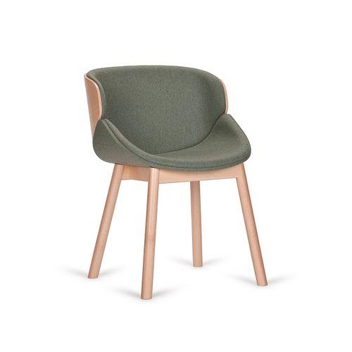 Aria W käsinojallinen tuoli