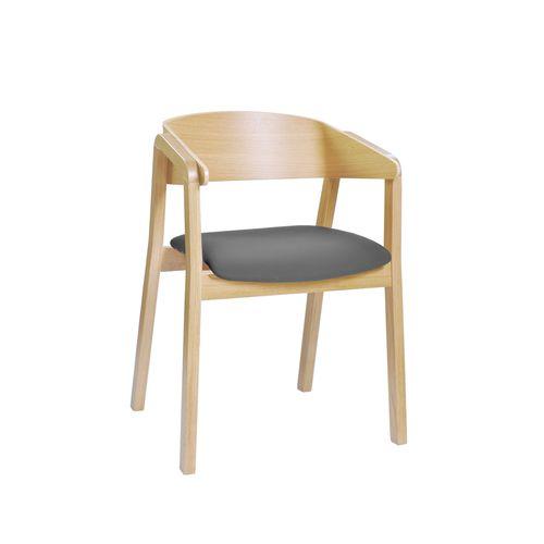 Cava B tuoli, istuin verhoiltu