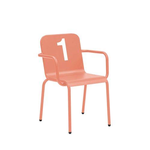 Number 8120 käsinojallinen tuoli