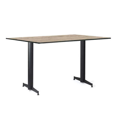 X4 T-Base Street itsetasoitava pöydänjalkapari